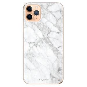 Odolné silikónové puzdro iSaprio - SilverMarble 14 - iPhone 11 Pro Max