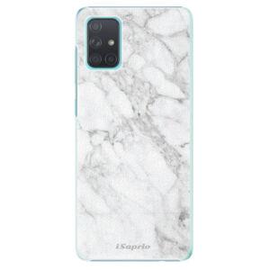 Plastové puzdro iSaprio - SilverMarble 14 - Samsung Galaxy A71