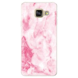 Silikónové puzdro iSaprio - RoseMarble 16 - Samsung Galaxy A5 2016
