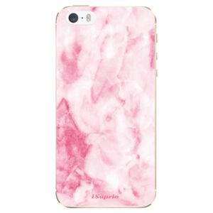 Odolné silikónové puzdro iSaprio - RoseMarble 16 - iPhone 5/5S/SE