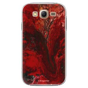 Plastové puzdro iSaprio - RedMarble 17 - Samsung Galaxy Grand Neo Plus