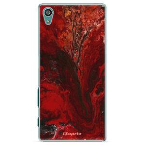 Plastové puzdro iSaprio - RedMarble 17 - Sony Xperia Z5