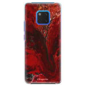 Plastové puzdro iSaprio - RedMarble 17 - Huawei Mate 20 Pro