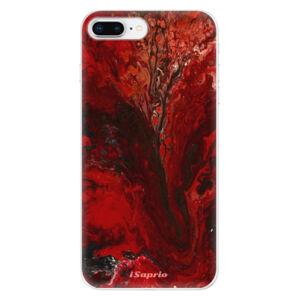 Odolné silikónové puzdro iSaprio - RedMarble 17 - iPhone 8 Plus