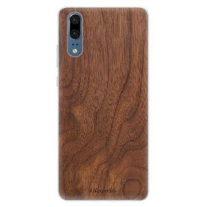 Silikónové puzdro iSaprio - Wood 10 - Huawei P20