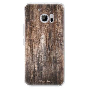 Plastové puzdro iSaprio - Wood 11 - HTC 10