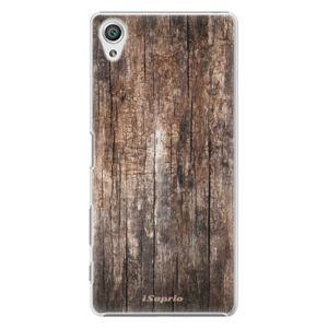 Plastové puzdro iSaprio - Wood 11 - Sony Xperia X