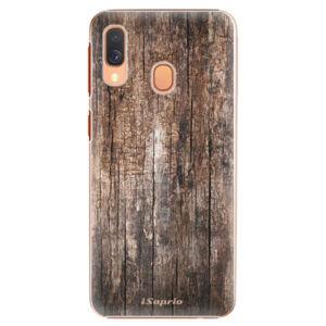 Plastové puzdro iSaprio - Wood 11 - Samsung Galaxy A40