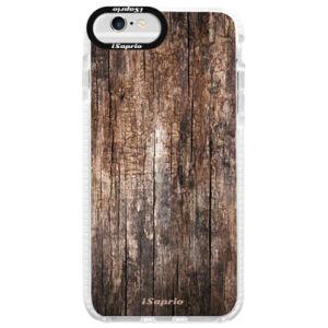 Silikónové púzdro Bumper iSaprio - Wood 11 - iPhone 6/6S