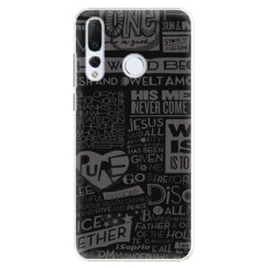 Plastové puzdro iSaprio - Text 01 - Huawei Nova 4
