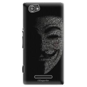 Plastové puzdro iSaprio - Vendeta 10 - Sony Xperia M
