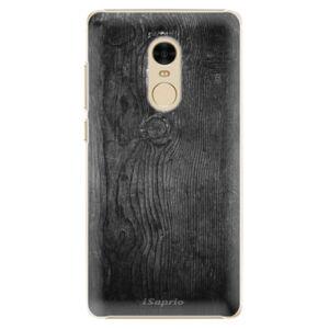 Plastové puzdro iSaprio - Black Wood 13 - Xiaomi Redmi Note 4