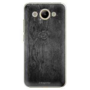 Plastové puzdro iSaprio - Black Wood 13 - Huawei Y3 2017