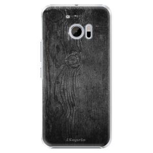 Plastové puzdro iSaprio - Black Wood 13 - HTC 10