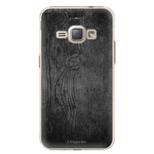 Plastové puzdro iSaprio - Black Wood 13 - Samsung Galaxy J1 2016