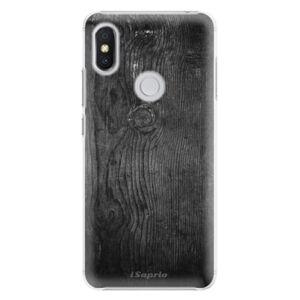 Plastové puzdro iSaprio - Black Wood 13 - Xiaomi Redmi S2
