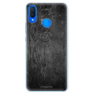 Silikónové puzdro iSaprio - Black Wood 13 - Huawei Nova 3i