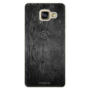 Silikónové puzdro iSaprio - Black Wood 13 - Samsung Galaxy A5 2016