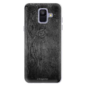 Silikónové puzdro iSaprio - Black Wood 13 - Samsung Galaxy A6