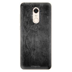 Silikónové puzdro iSaprio - Black Wood 13 - Xiaomi Redmi 5 Plus