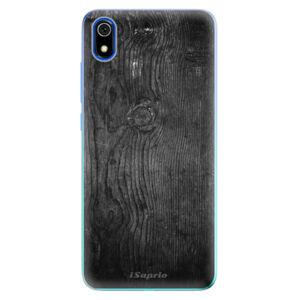 Odolné silikónové puzdro iSaprio - Black Wood 13 - Xiaomi Redmi 7A