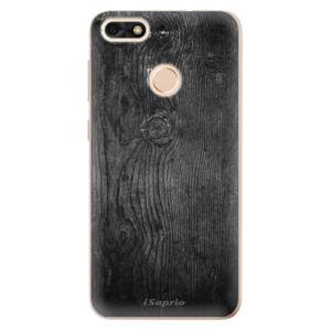 Odolné silikónové puzdro iSaprio - Black Wood 13 - Huawei P9 Lite Mini