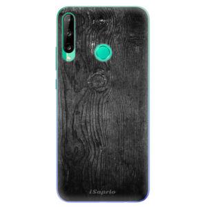 Odolné silikónové puzdro iSaprio - Black Wood 13 - Huawei P40 Lite E