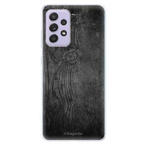 Odolné silikónové puzdro iSaprio - Black Wood 13 - Samsung Galaxy A52/A52 5G