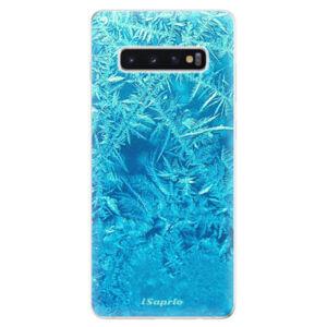 Odolné silikonové pouzdro iSaprio - Ice 01 - Samsung Galaxy S10+