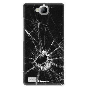 Plastové puzdro iSaprio - Broken Glass 10 - Huawei Honor 3C