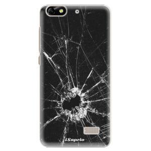 Plastové puzdro iSaprio - Broken Glass 10 - Huawei Honor 4C