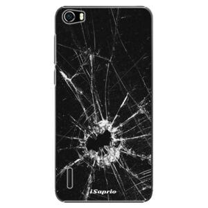 Plastové puzdro iSaprio - Broken Glass 10 - Huawei Honor 6