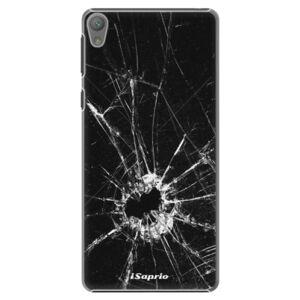 Plastové puzdro iSaprio - Broken Glass 10 - Sony Xperia E5