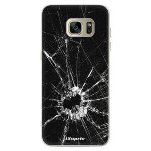 Silikónové puzdro iSaprio - Broken Glass 10 - Samsung Galaxy S7