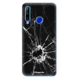 Odolné silikónové puzdro iSaprio - Broken Glass 10 - Huawei Honor 20 Lite