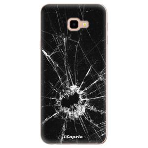 Odolné silikónové puzdro iSaprio - Broken Glass 10 - Samsung Galaxy J4+