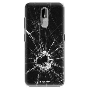 Plastové puzdro iSaprio - Broken Glass 10 - Nokia 3.2