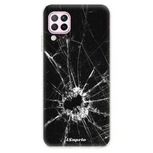 Odolné silikónové puzdro iSaprio - Broken Glass 10 - Huawei P40 Lite
