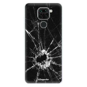 Odolné silikónové puzdro iSaprio - Broken Glass 10 - Xiaomi Redmi Note 9