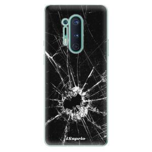 Odolné silikónové puzdro iSaprio - Broken Glass 10 - OnePlus 8 Pro