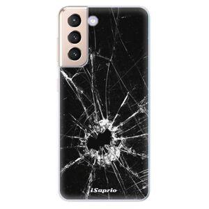 Odolné silikónové puzdro iSaprio - Broken Glass 10 - Samsung Galaxy S21