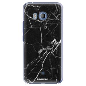 Plastové puzdro iSaprio - Black Marble 18 - HTC U11