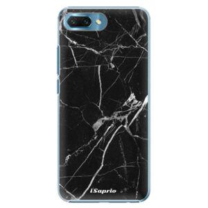 Plastové puzdro iSaprio - Black Marble 18 - Huawei Honor 10