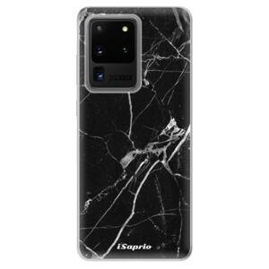 Odolné silikónové puzdro iSaprio - Black Marble 18 - Samsung Galaxy S20 Ultra