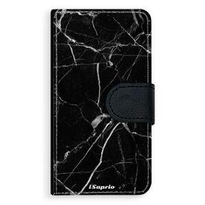 Univerzálne flipové puzdro iSaprio - Black Marble 18 - Flip M