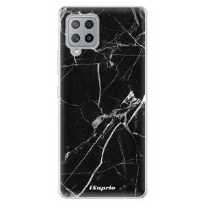 Odolné silikónové puzdro iSaprio - Black Marble 18 - Samsung Galaxy A42