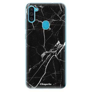 Odolné silikónové puzdro iSaprio - Black Marble 18 - Samsung Galaxy M11