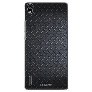 Plastové puzdro iSaprio - Metal 01 - Huawei Ascend P7
