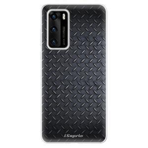 Odolné silikónové puzdro iSaprio - Metal 01 - Huawei P40
