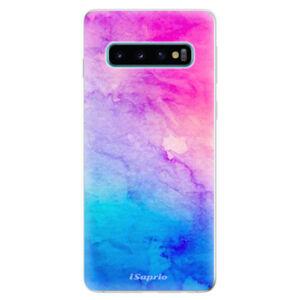 Odolné silikonové pouzdro iSaprio - Watercolor Paper 01 - Samsung Galaxy S10